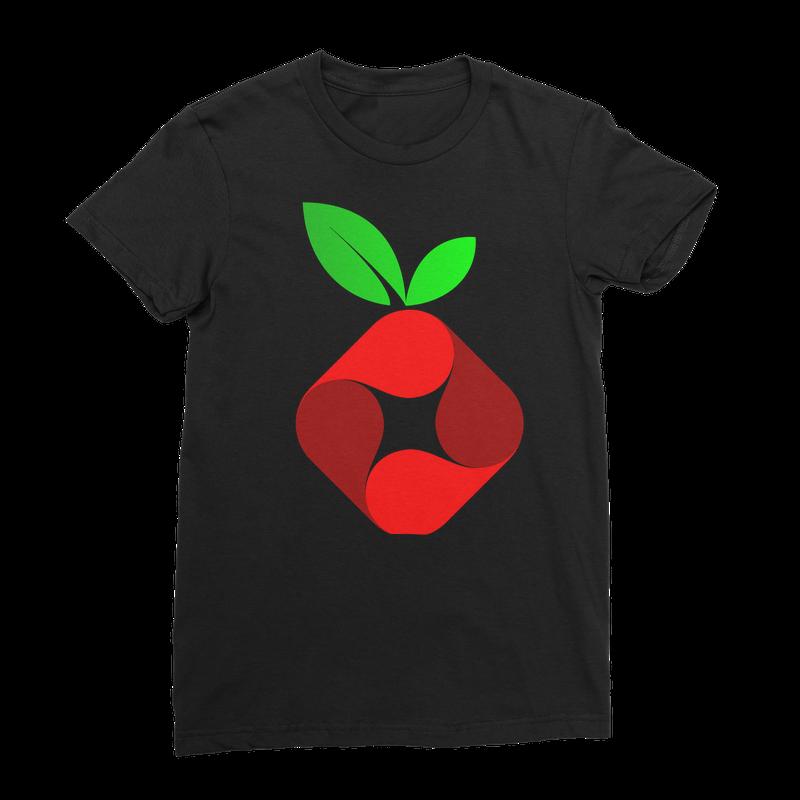 Pi-hole Vortex Women's T-Shirt by American Apparel