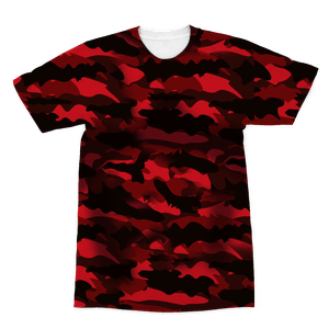 Red Army Camouflage Sublimation T-Shirt – XS