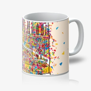 Paris Artprint Mug – 11oz