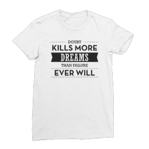 Dobut Kills More Dreams Women's Fine Jersey T-Shirt