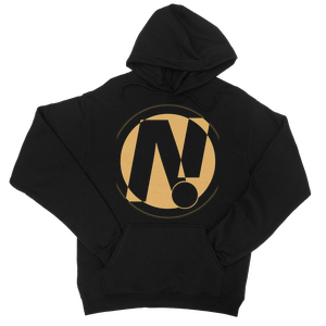 NO!ZECODE ICON College Hoodie – XS, Black