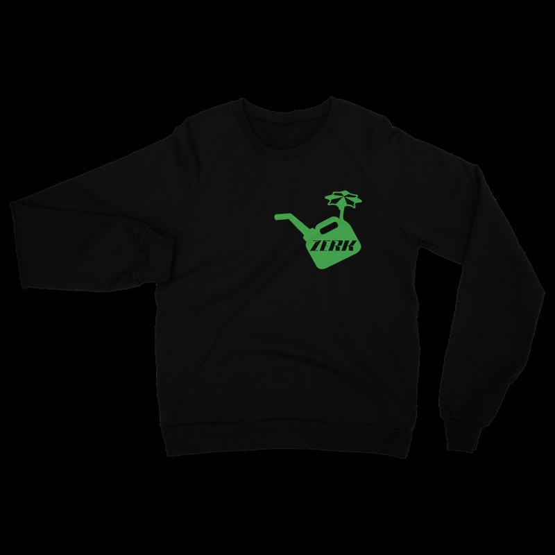 ZERK Crew Neck Sweatshirt – S, Black