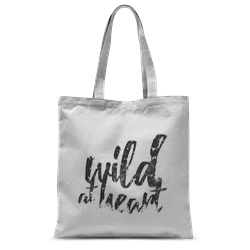 Wild at Heart Tote Bag – 15″x16.5″