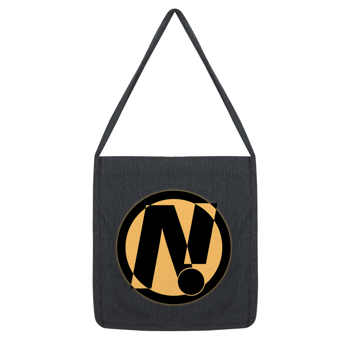 NO!ZECODE ICON Tote Bag – Melange Black